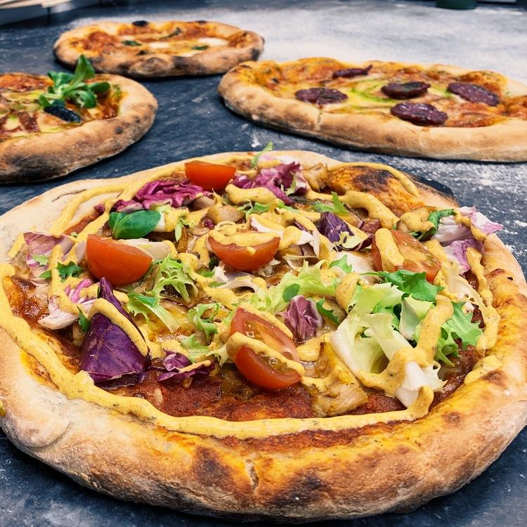 Surdegspizza: Kalle kebab