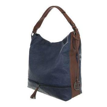 Väska blå