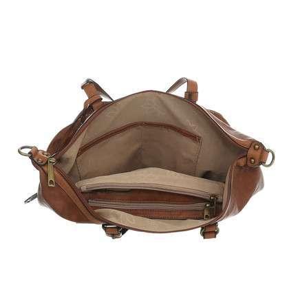 Väska cognac