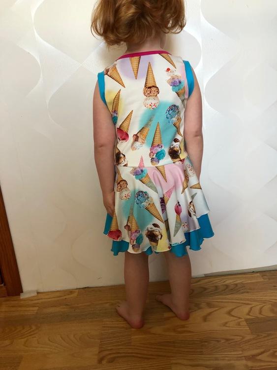 Fairy Princess klänning - kort ärm