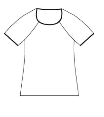 Raglan tröja - Casual fit