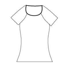 Raglan tröja - Slim fit