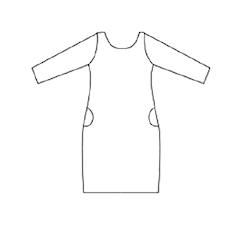 Smart dress lång ärm