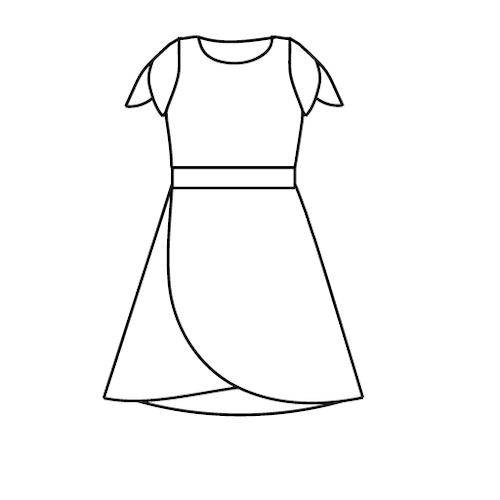 Tulpan klänning