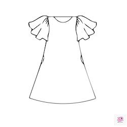 Summer dream - klänning A -linje