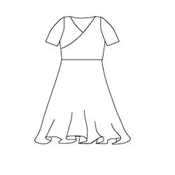 Mini Me klänning