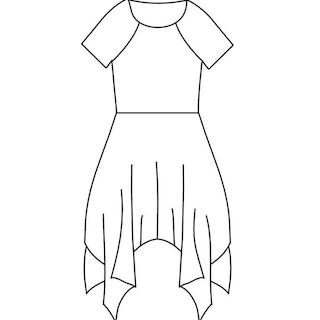 Corner dress storlek 80-122