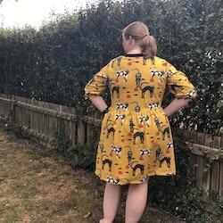 Oversize klänning