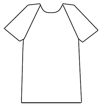Herr tröja - raglan ärm
