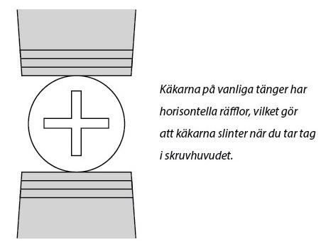 NEJI-SAURUS XL SKRUVTÅNG