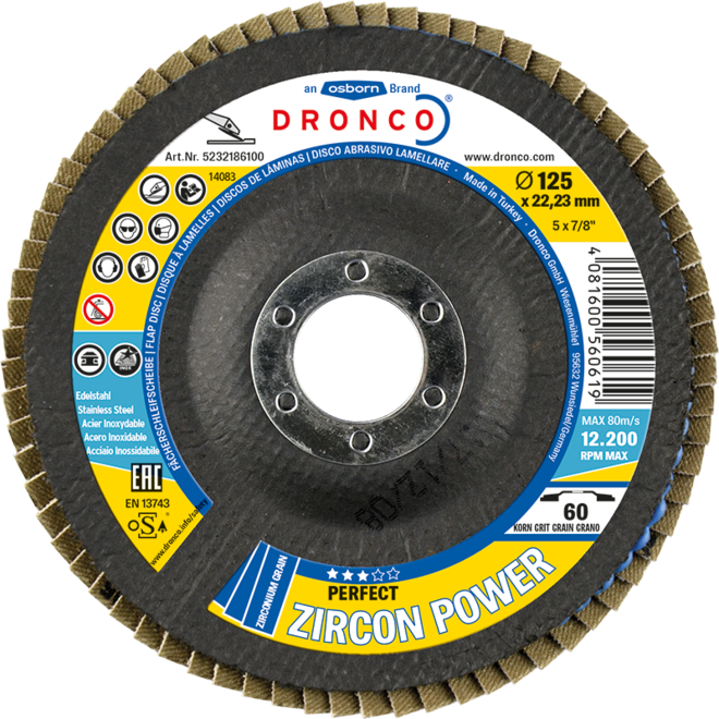 DRONCO Lamellrondell Zircon Power