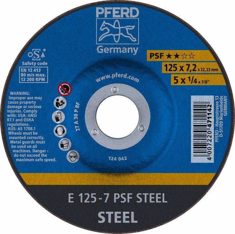 PFERD NAVRONDELL 125x7,2x22,23