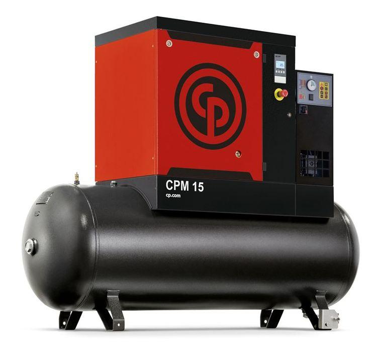 Skruvkompressor för den större verkstaden 8-12 platser