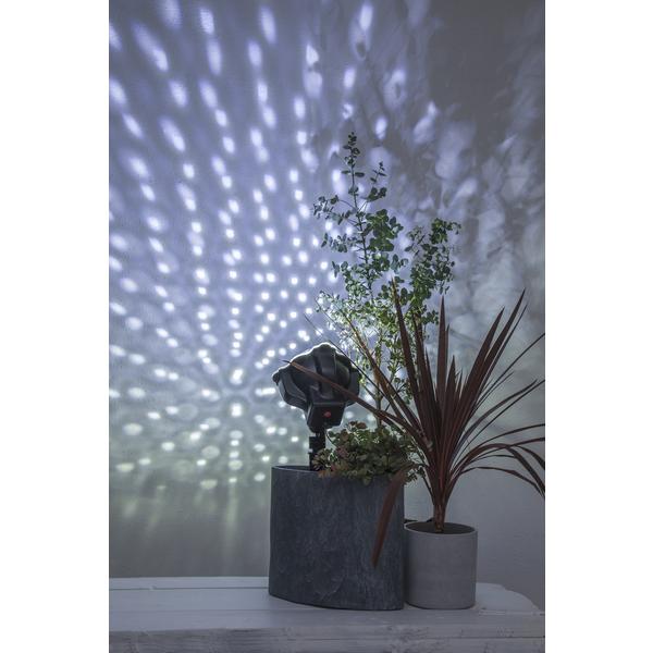 Projektorlampa LEDLIGHT med fjärr