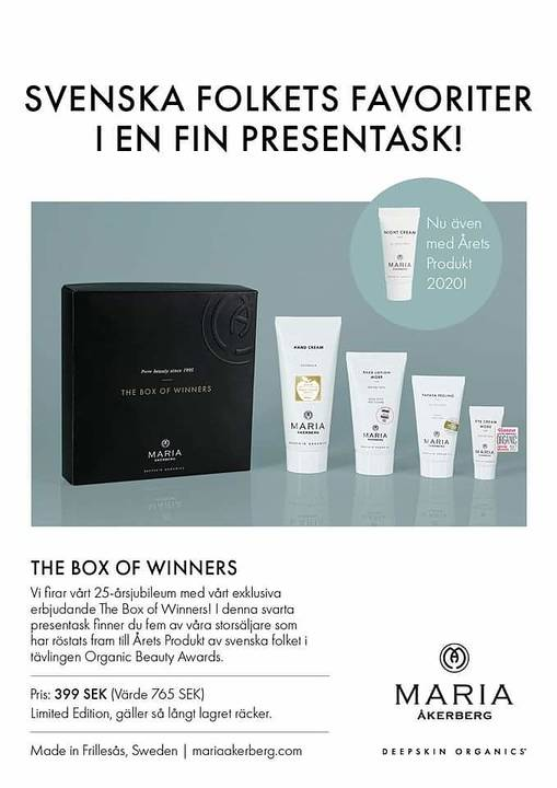 Maria Åkerberg Box of winners
