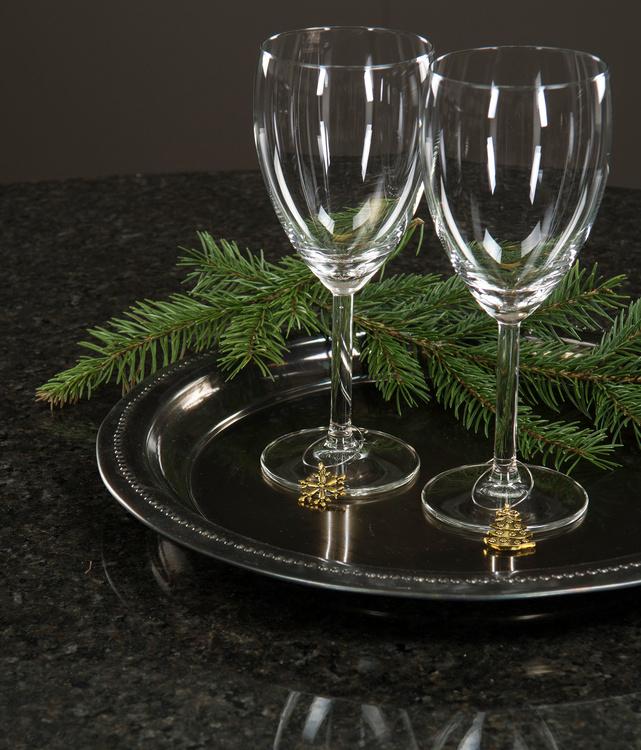 Dekoration till vinglas/glas
