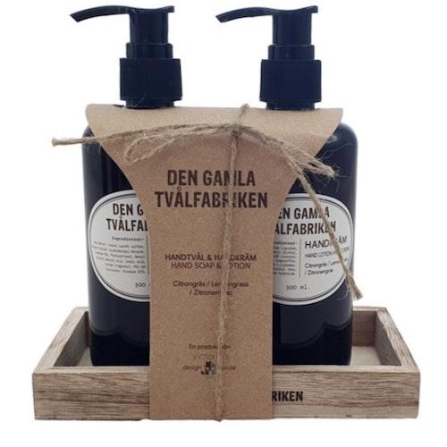Presentkit tvål & handkräm