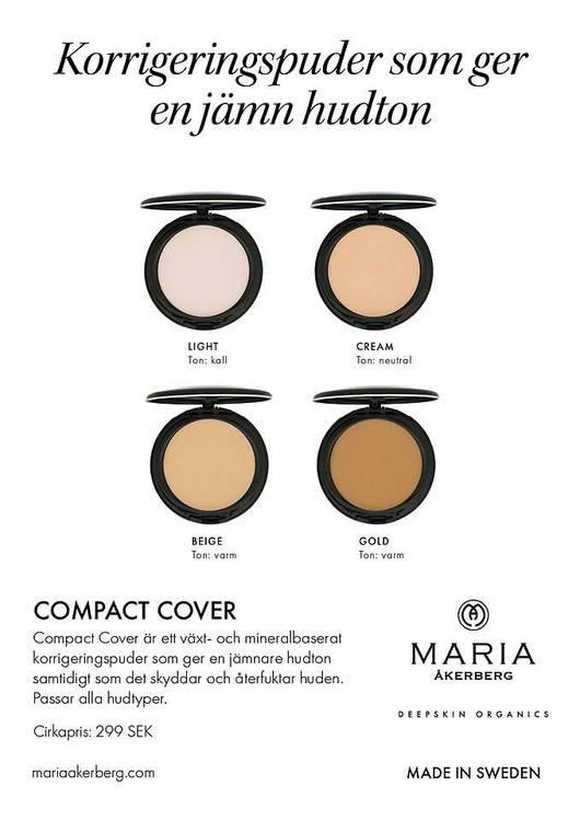 Maria Åkerberg Compact Cover Cream