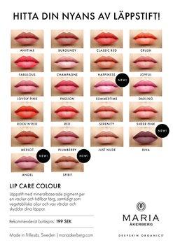 Maria Åkerberg Lip Care Colour Classic Red