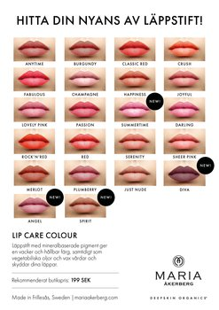Maria Åkerberg Lip Care Colour Serenety