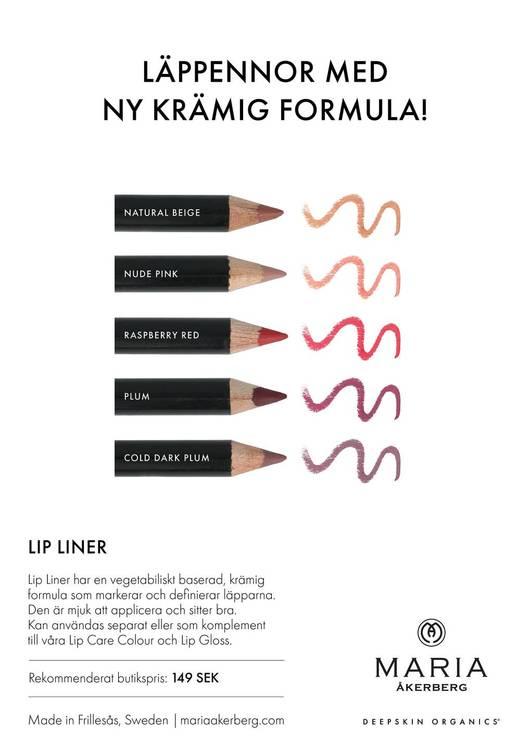 Maria Åkerberg Lip Liner Nude Pink