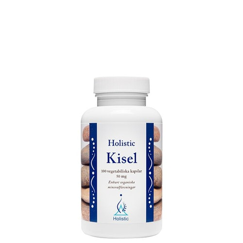 Holistic Kisel 50 mg, 100 kapslar