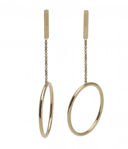 Bud To Rose Earring Zone Large Guld