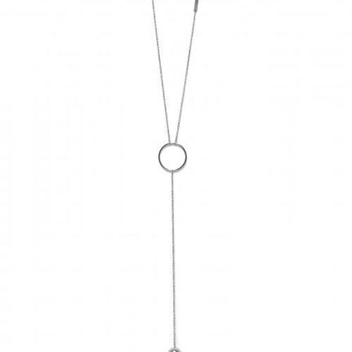 Bud To Rose halsband Orbit Stål