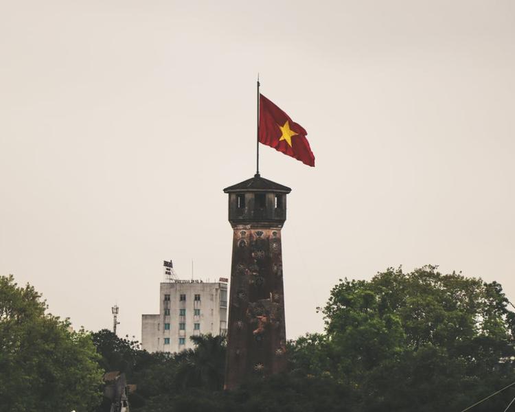 One year virtual address in Hanoi, Vietnam with scanning