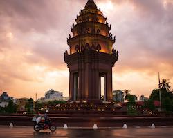 Virtual address in Phnom Penh, Cambodia