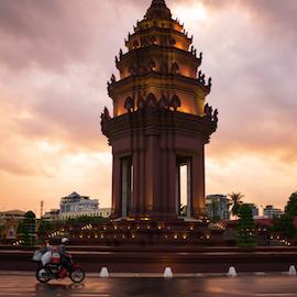 One year virtual address in Phnom Penh, Cambodia