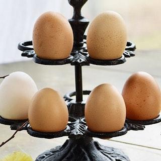 Ägghållare i gjutjärn