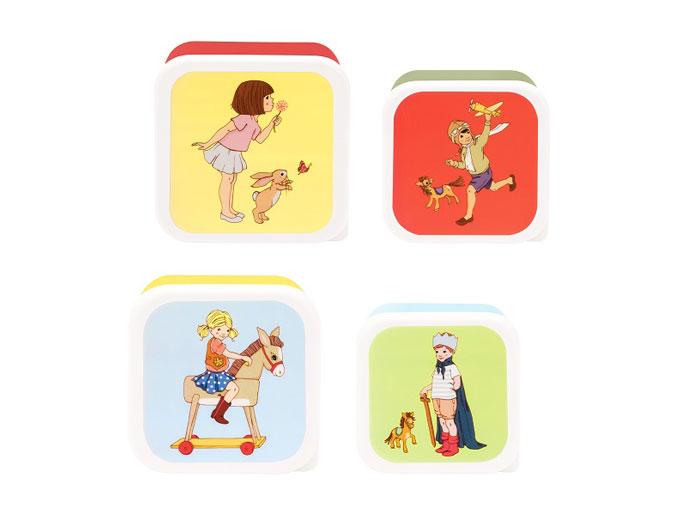 Snacksbox 4-p Belle & Boo