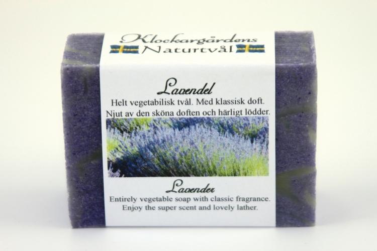 Lavendel Naturtvål