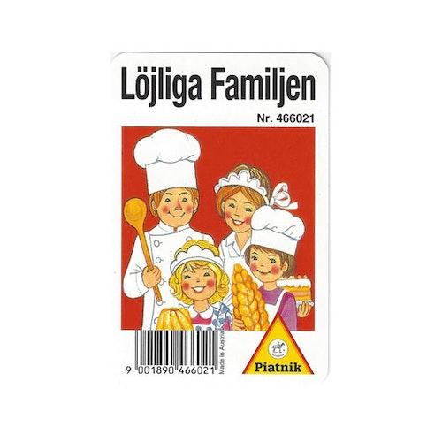 Löjliga Familjen Spelkort