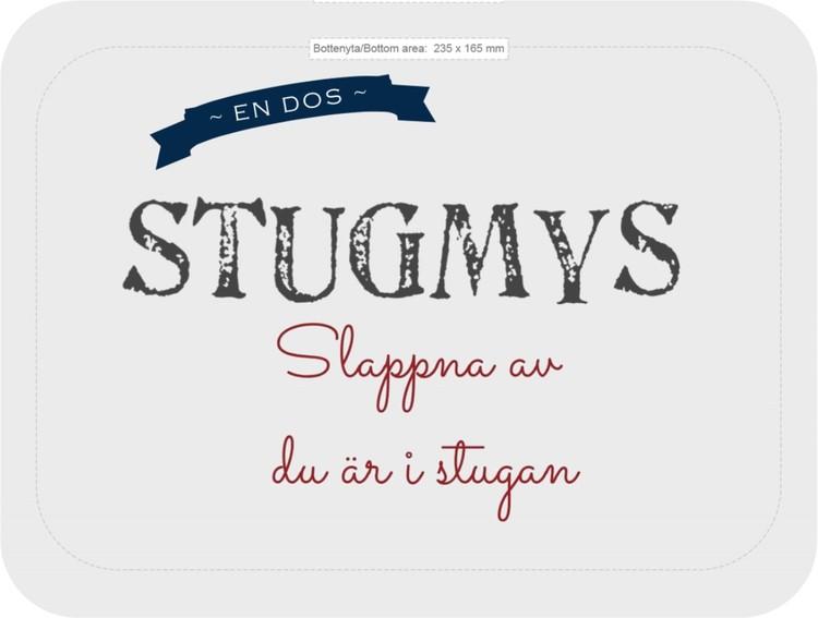 Bricka Stugmys