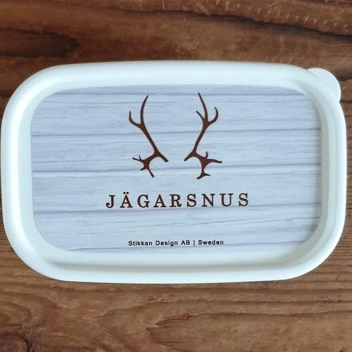 Liten mellanmålslåda Jägarsnus