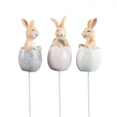 Kaniner i ägg 3 pack sticks