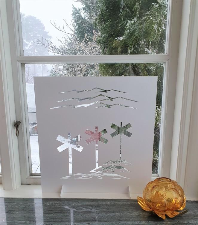 Fönsterskärm ledkryss Inkommer v 12