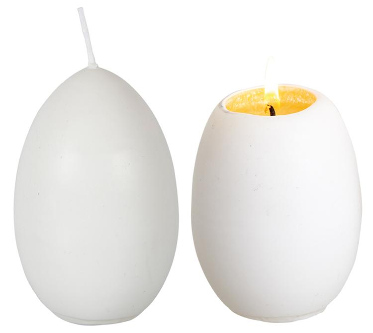 Ljus Hönsägg med gula