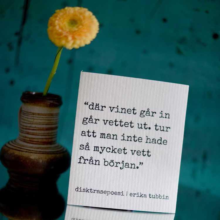 Där vinet... Disktrasa