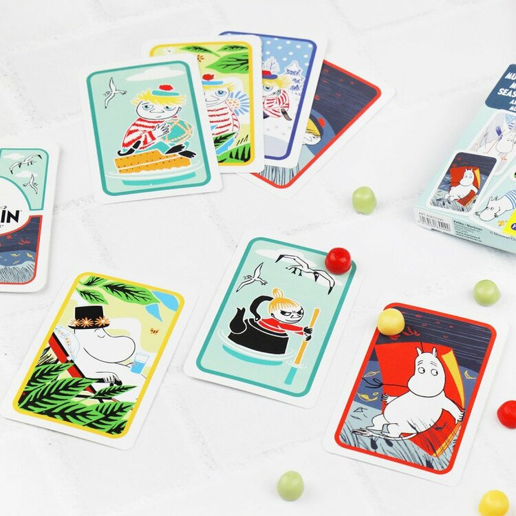 Mumin Årstider kortspel