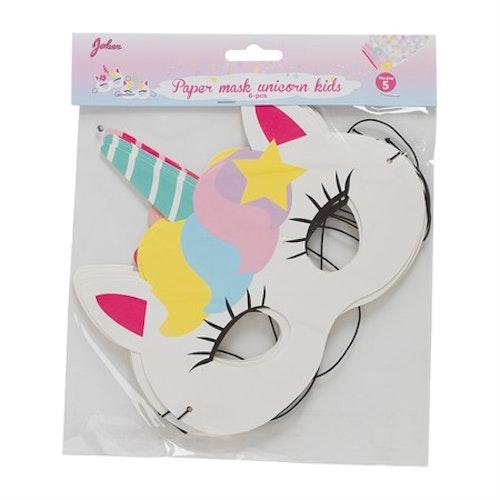 Unicorn ögonmask 6 pak