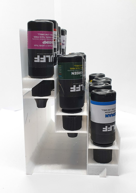 Expandable resinstand 6bottle.
