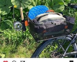 Cykelspöhållare.