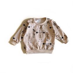 Sweatshirt - Equally Strong Leo beige