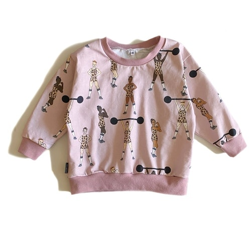 Sweatshirt - Equally Strong Leo dusty rose