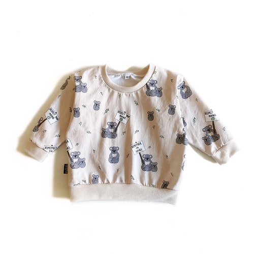 Sweatshirt - Koala Statement beige