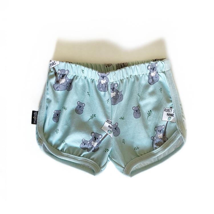 Shorts - Koala Statement dusty mint