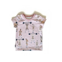 T-shirt - Equally Strong leo pink